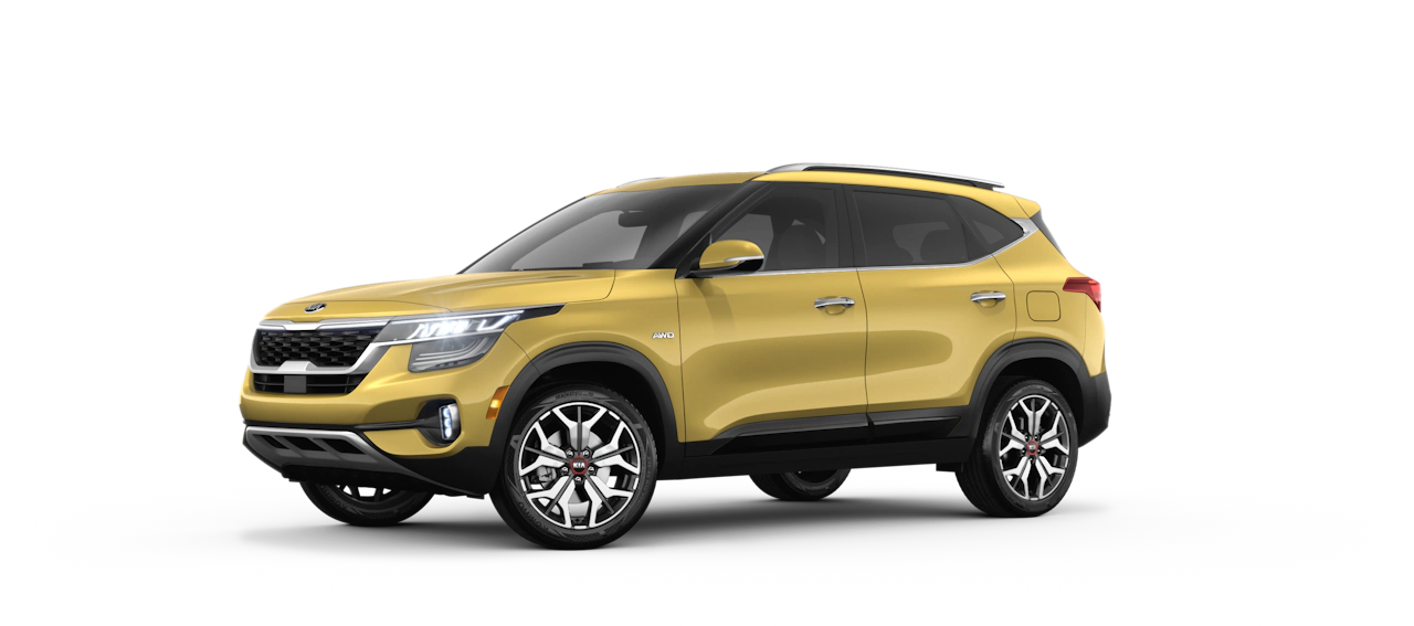 2021 Kia Seltos Exterior Starbright Yellow